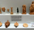 Archaeological Museum of Heraklion- Hermes figurines and lamps from the sanctuary of Hermes and Aphrodite at Symi
