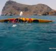 Kayaking in Lentas by Stelios Asmargianakis