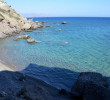 Small beach, west Agia Fotia