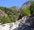 Down in Samaria gorge