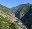 Exit of Samaria gorge by Agia Roumeli