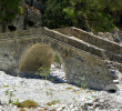 Old bridge in Samaria gorge