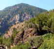 Samaria gorge from Xyloskalo