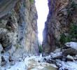 Sideroportes in Samaria gorge