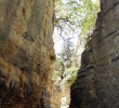 Narrow part of Imbros Gorge