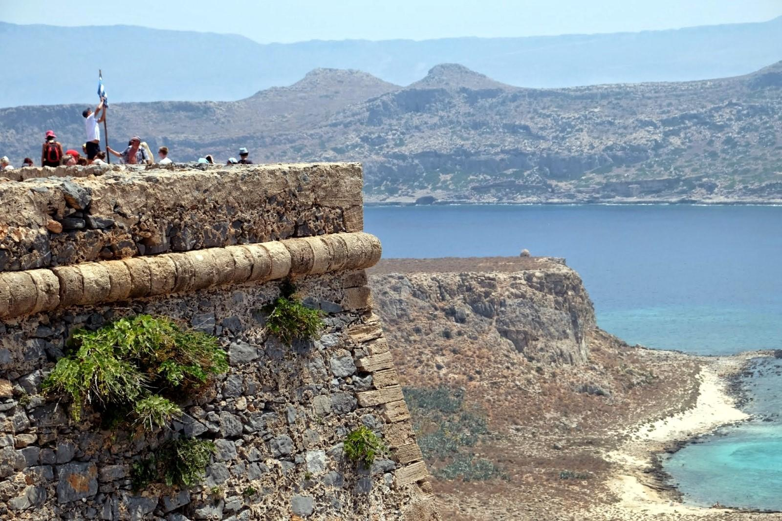 The fort of Gramvousa