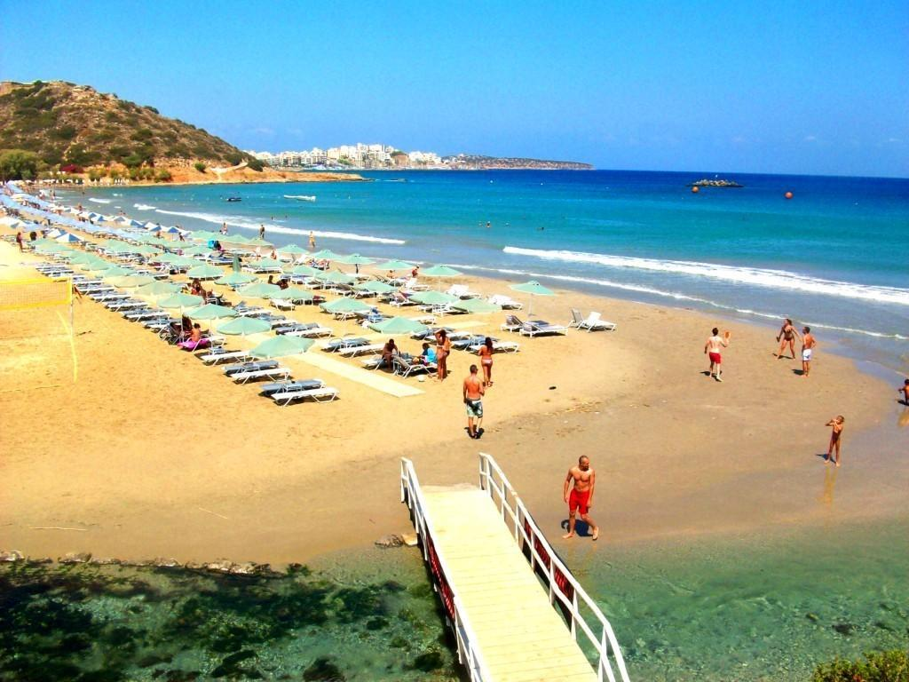 Almiros beach - Travel Guide for Island Crete, Greece
