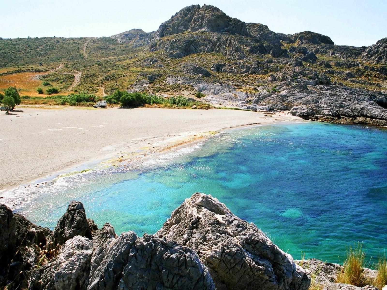 Ammoudi beaches, Plakias - Travel Guide for Island Crete ...