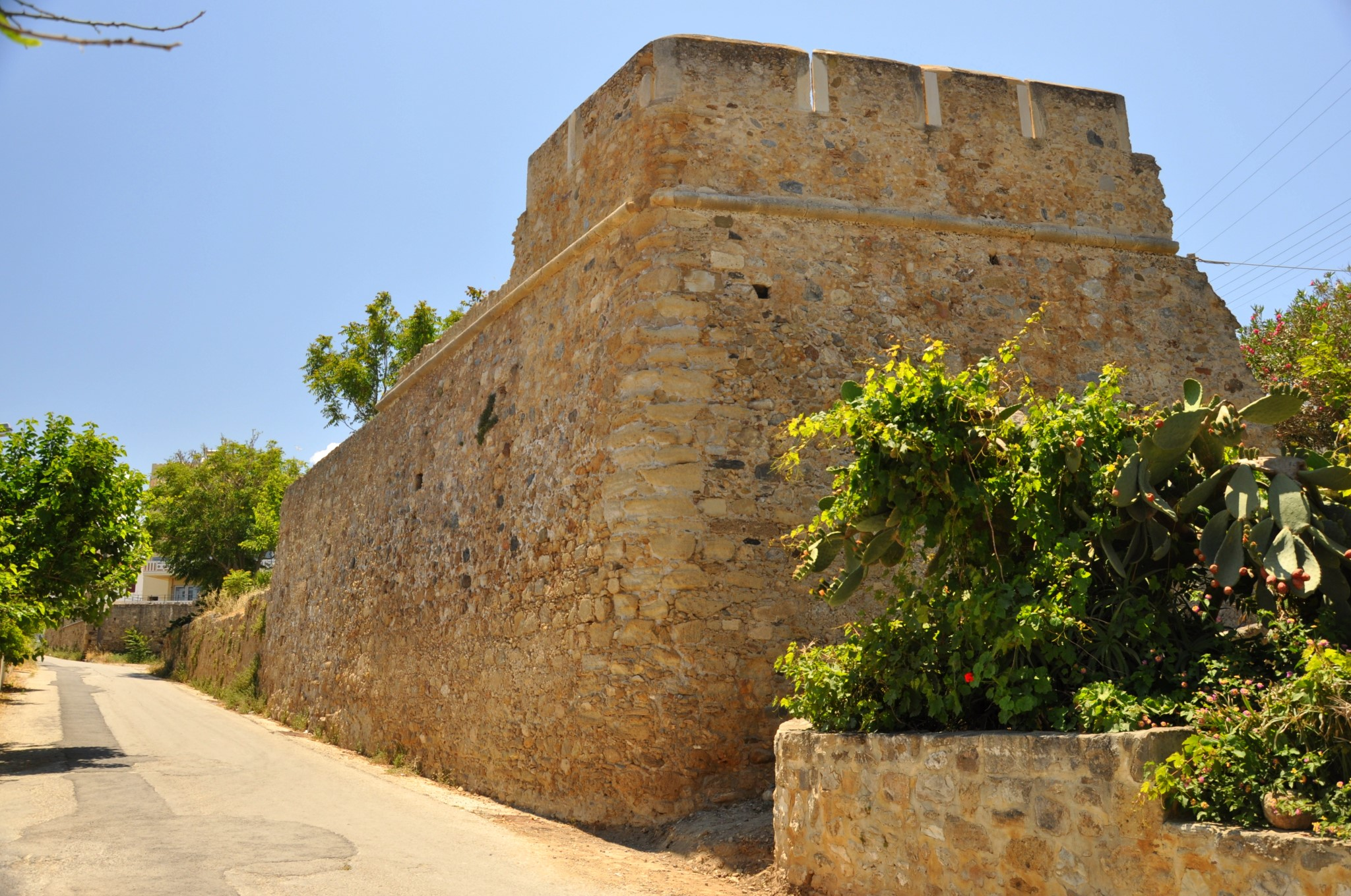 Remaining Part of Kissamos Fort