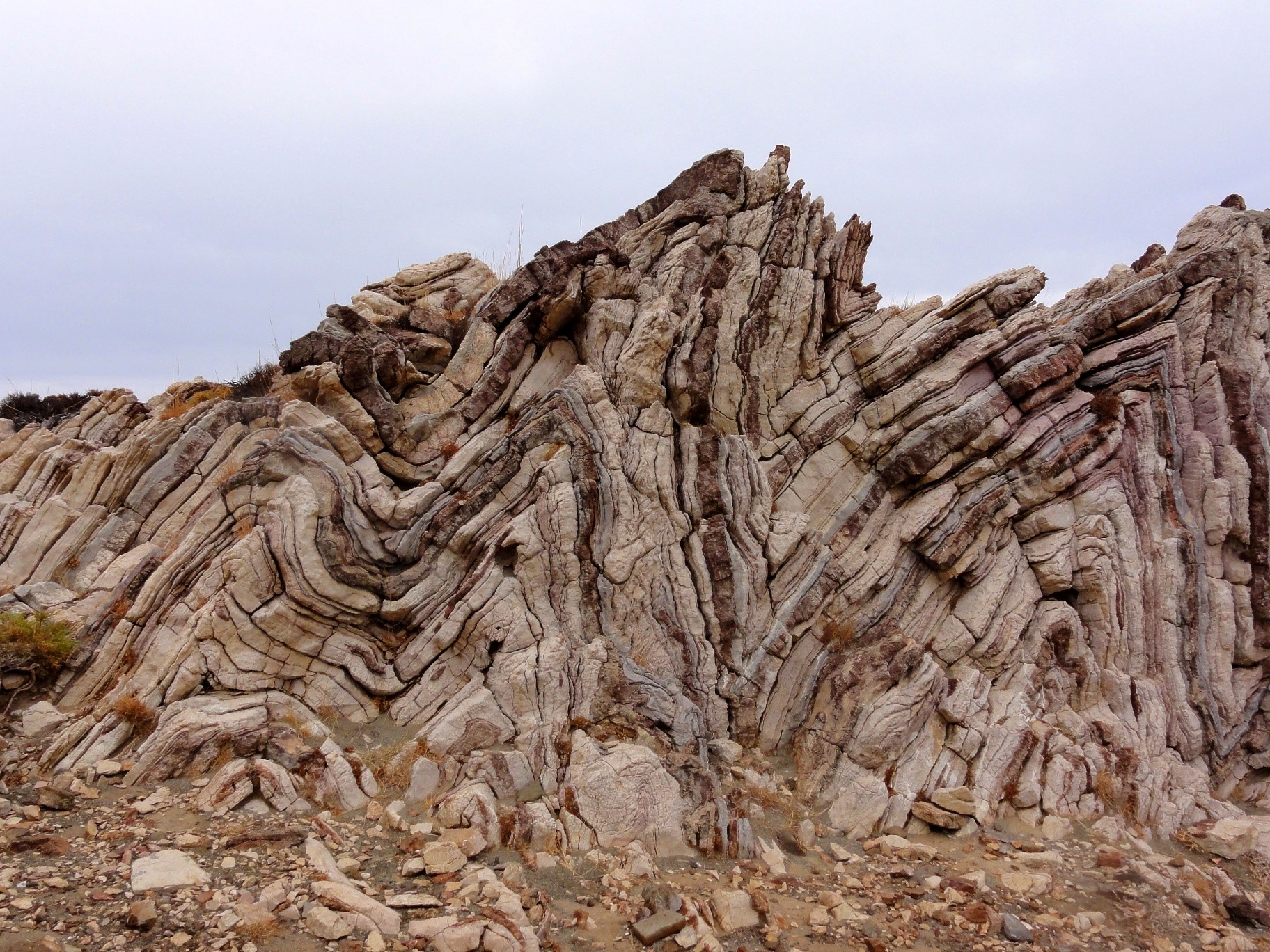 Faults And Folds In The World