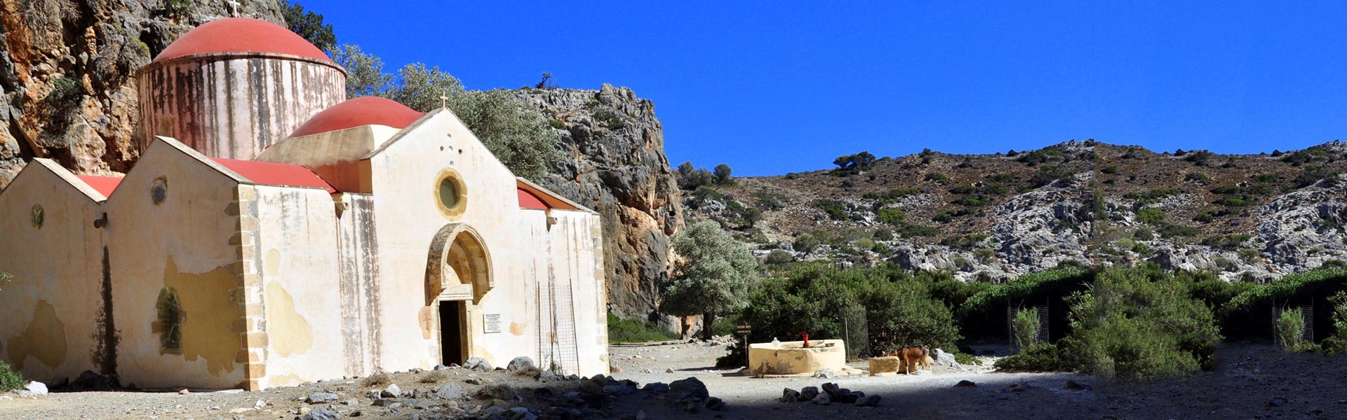 Agiosfarago gorge