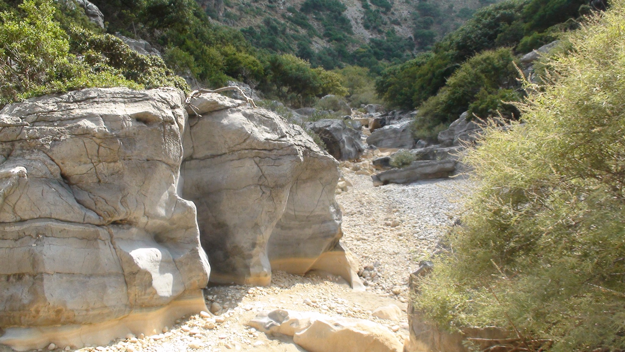 A section of Aposelemis Gorge