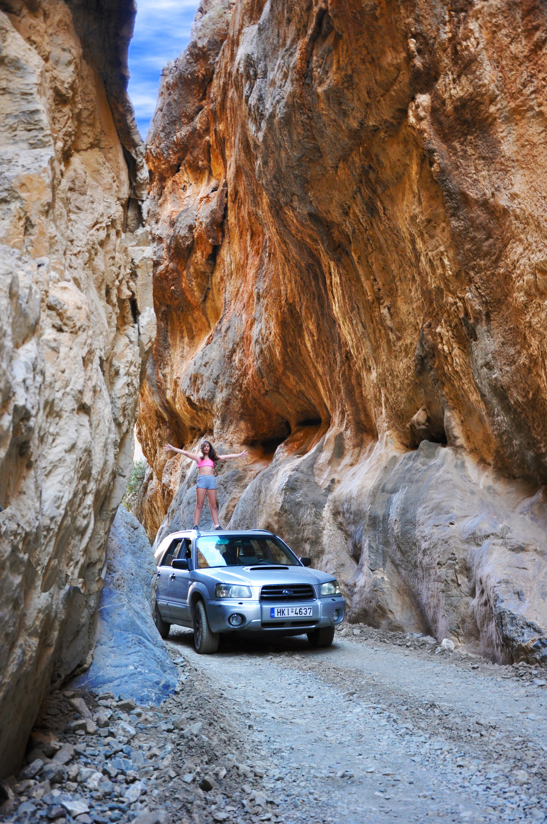 Narrow Gorge of Tripiti
