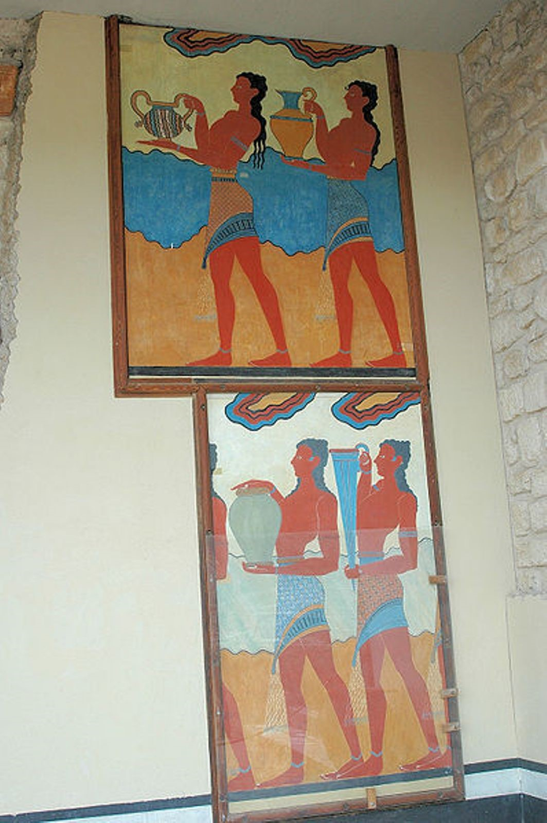 Procession frescoe