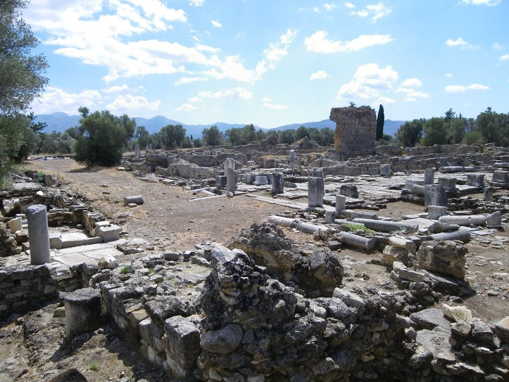 Pretorium in Roman Gortyna, Crete, Greece