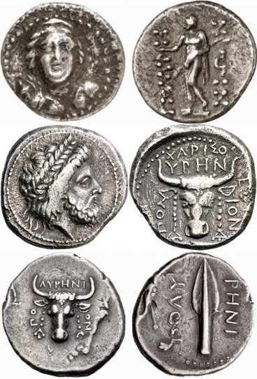 Coins of ancient Polirinia