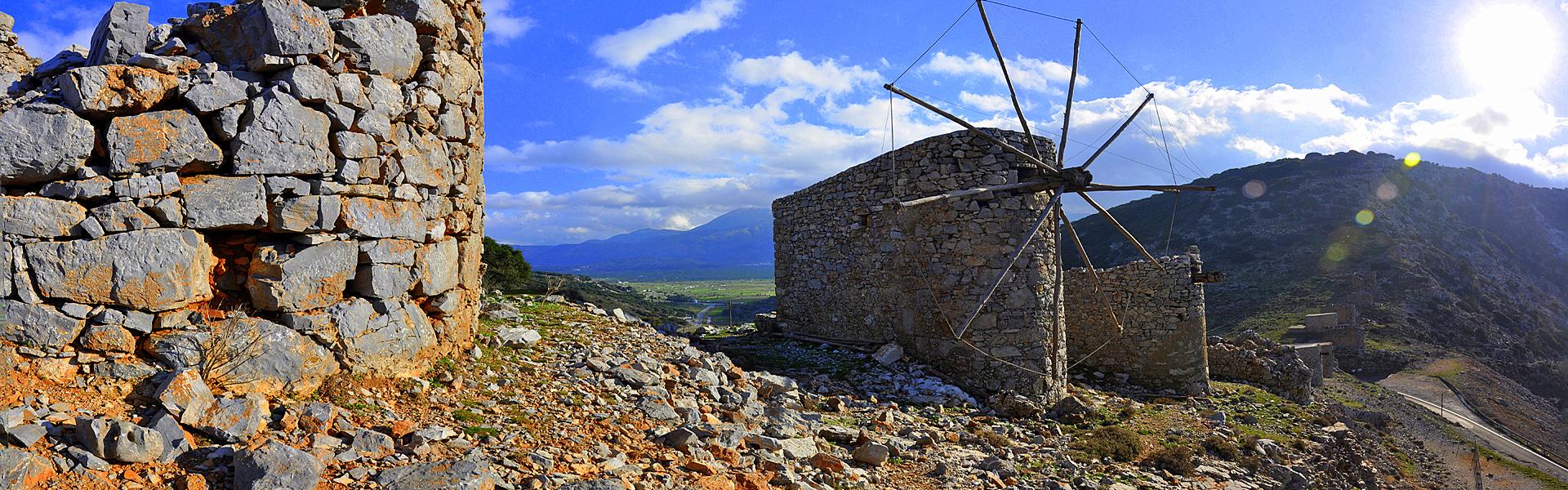 The mills of Ambelos
