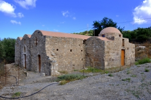 Saint Demetrius church at Viran Episkopi