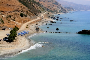 Drymiskos beaches