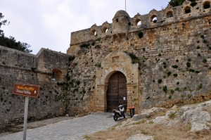 Fortress Fortezza in Rethymnon