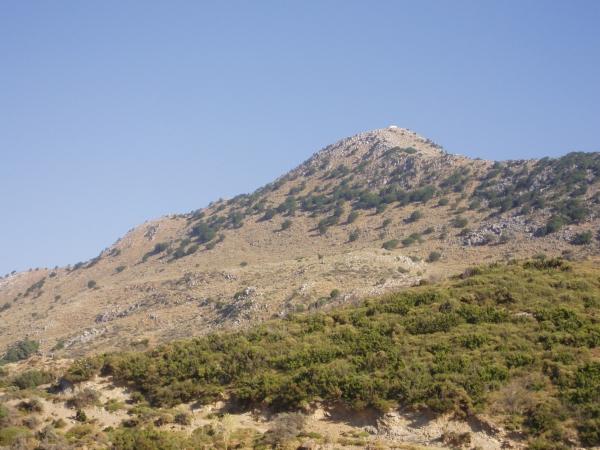Μπλε βουνά που χρονολογούνται