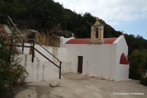 Panagia Mirtidiotissa church at Lastros