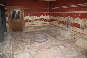 Minos Palace in Knossos