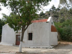 The monastery of Panagia Armos in Malles