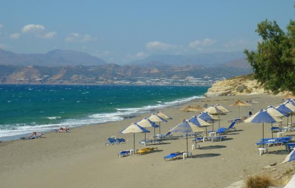 Kalamaki beach - Travel Guide for Island Crete, Greece