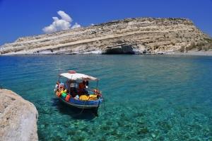 Пляжи округа Ираклион острова Крит | 199x300
