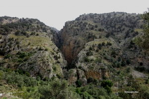Farangouli Gorge at Voriza